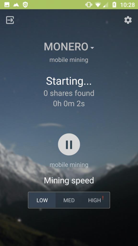 برنامه استخراج رمز ارز با گوشی ماینرگیت (MinerGate Mobile Miner)
